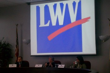 One of the LWVEA Candidate Forum's this spring